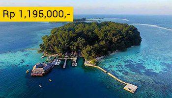 Pulau Pelangi paket